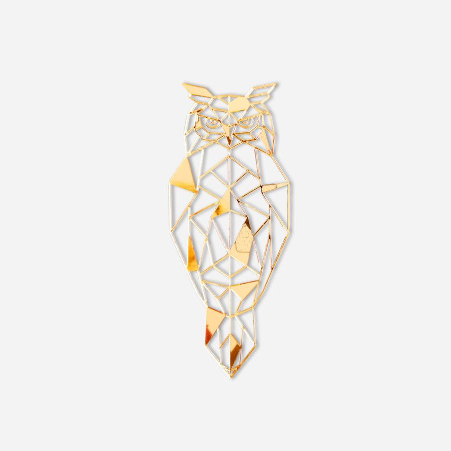 złota dekoracja ścienna