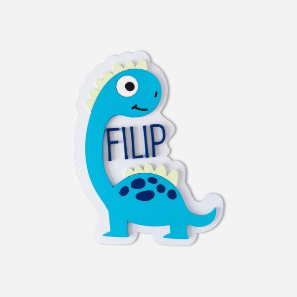 dekoracja dla dziecka - dinozaur