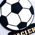 dekoracja do pokoju dziecięcego piłka nożna