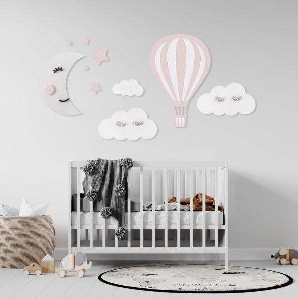 Zestaw dekoracji do pokoju dziecięcego