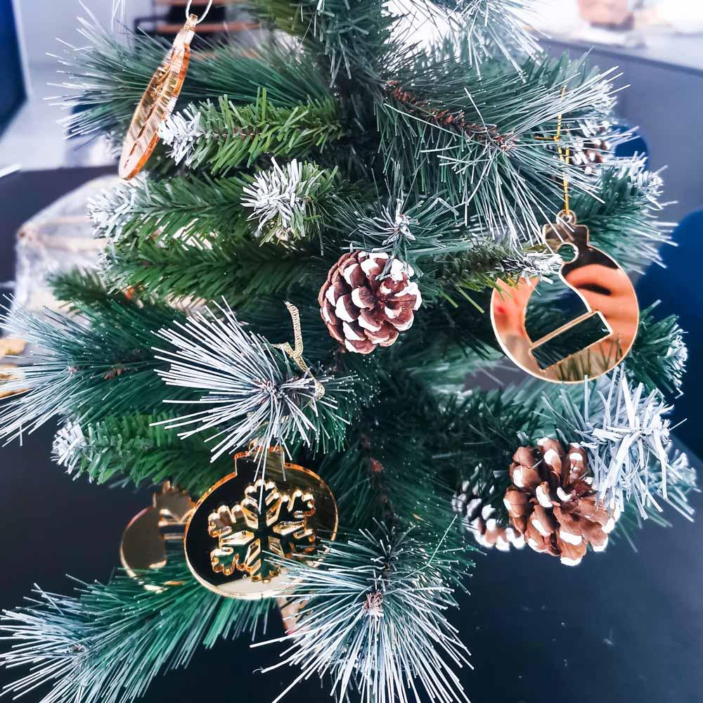dekoracja świąteczna bombki